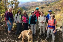 Fall Hike on Upper WOW Trail