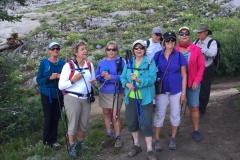 Hiking at Alta